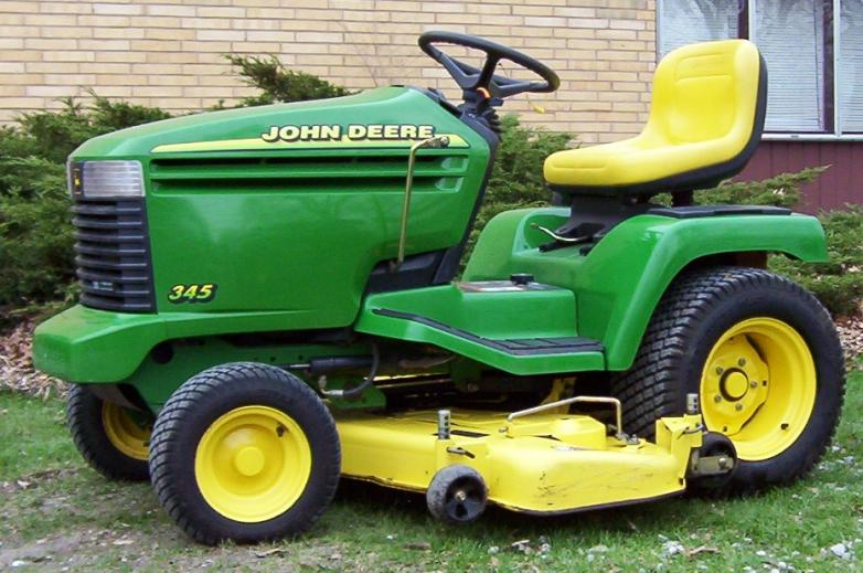 jd 345 18 hp or