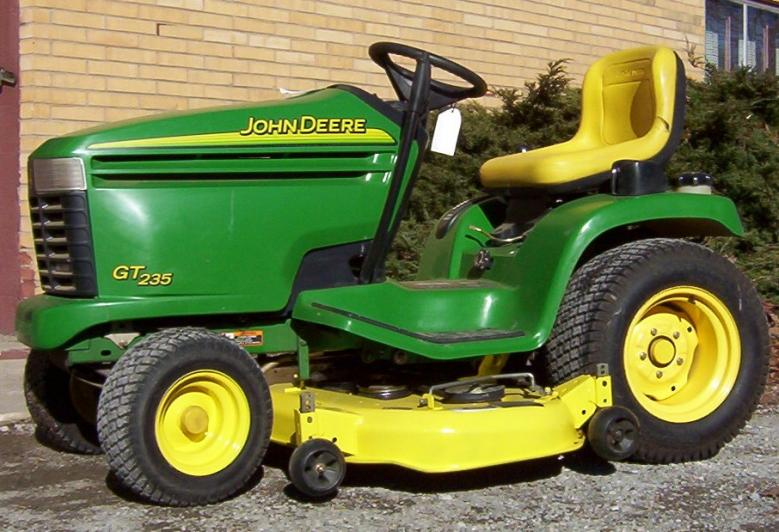 John Deere Gt235 Battery Light Stays On