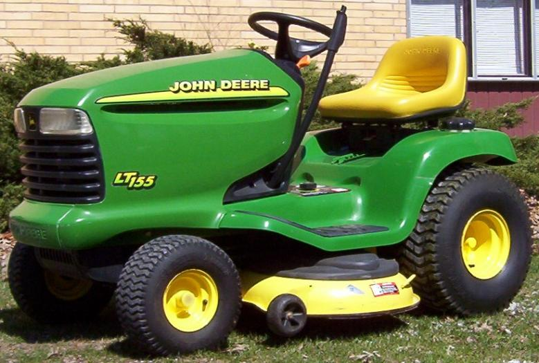 JD LT155 with 42 Freedom Deck