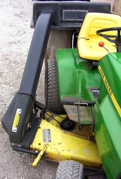 John Deere L120 Deck Belt Routing John Deere D140 Belt
