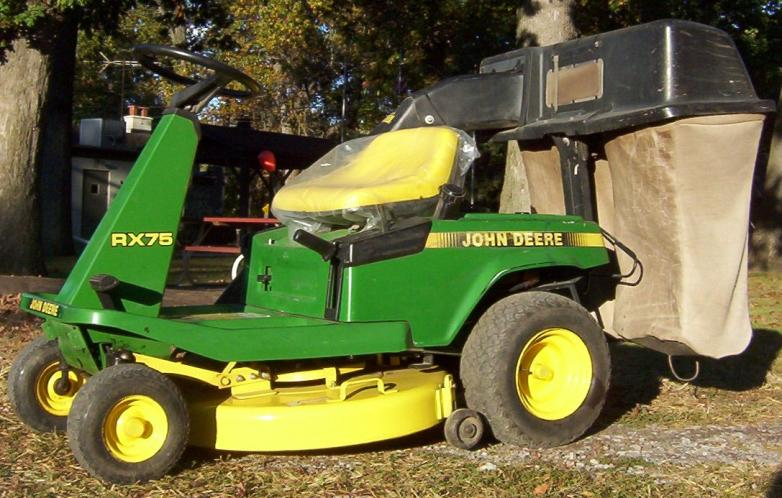 JD RX75 Riding Mower