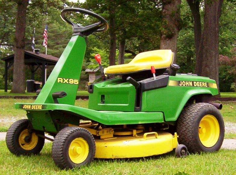 JD RX95 Riding Mower